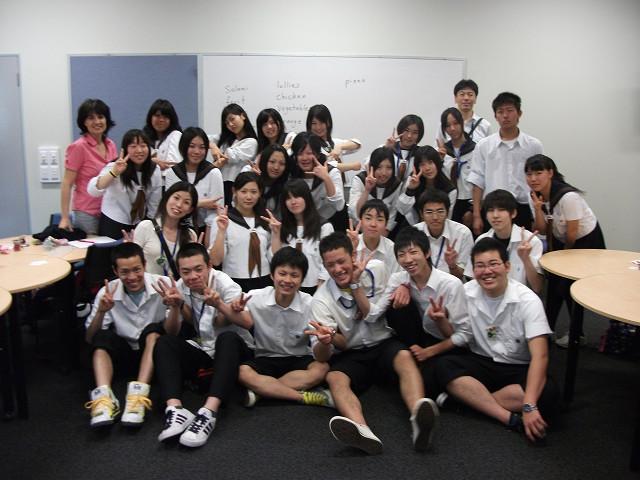 短期留学のメンバー