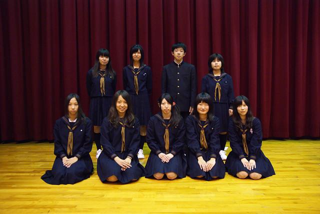 生徒会のメンバー