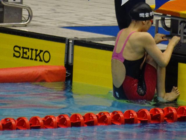 女子400mメドレーリレー