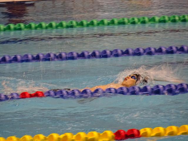 男子200m背泳ぎ