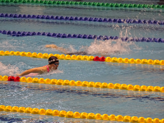 女子100mバタフライ