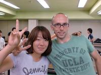 """田村さん(左)""""本当に楽しかったです!"""""""